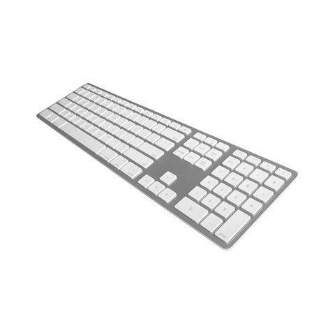 Matias FK418BTS Wireless Aluminum Keyboard - Silver