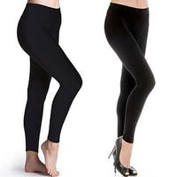 a26415b0cf544 Shop INDERO High Waist Fleece Leggings - Free Shipping On Orders ...