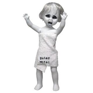 Living Dead Dolls Psycho Marion In White Bath Towel - multi