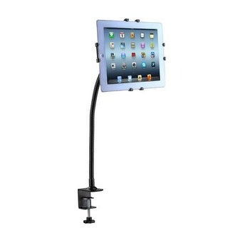 Cta Digital Gooseneck Clamp Mount Stand For Ipad Air, Ipad 2/4G, Samsung Galaxy And 9.7-10.1 Inches Tablets (Pad-Gcm)