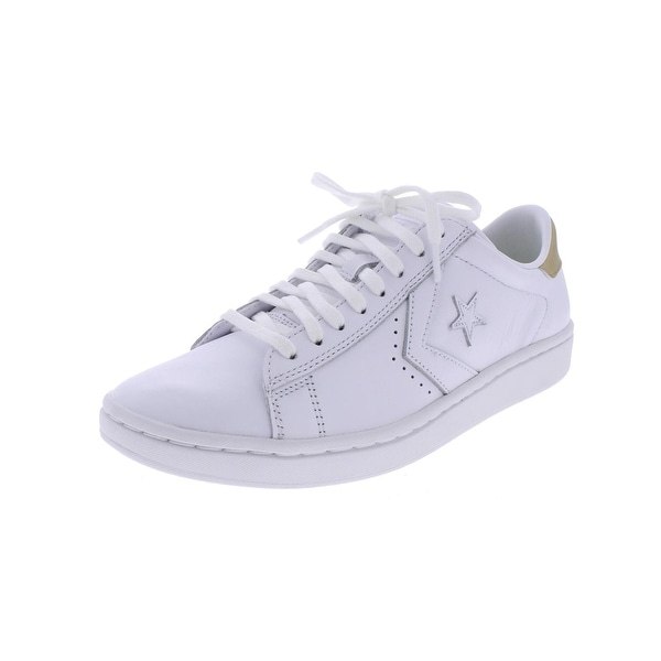 Converse Womens Skateboarding Shoes Metallic Low Top