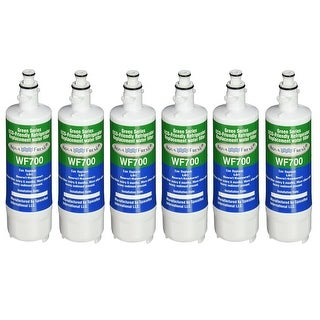 Replacement LG LT700P / ADQ36006101 Refrigerator Water Filter by Aqua Fresh (6 Pack)