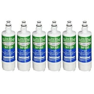 Fits LG LMX25988ST Refrigerators Aqua Fresh Replacement Water Filter 6 Pack