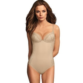Maidenform Firm Foundations Lift Cup Bodybriefer - Size - 34C - Color - Latte Lift