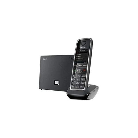 Gigaset GIGASET-C530IP Cordless Hybrid Expandable Phone for IP or Landline Calls Gigaset GIGASET-C530IP Cordless Hybrid