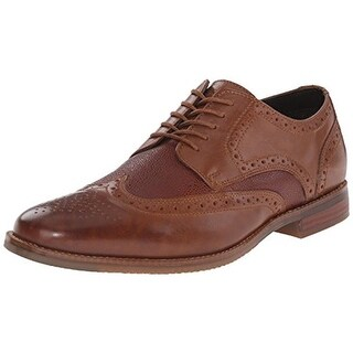 Rockport Mens Style Purpose Leather Wingtip Derby Shoes