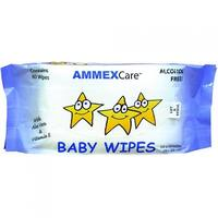 AMMEXCare BWCR Baby Wipe Refills (Case of 960 wipes)