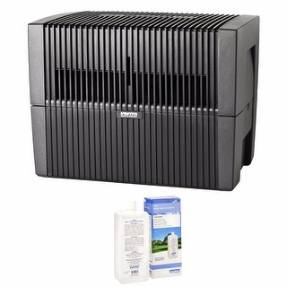 Venta LW45G Humidifier & Airwasher (Gray) with Airwasher Venta Water Treatment