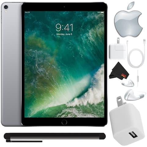 "Apple 10.5"" iPad Pro (512GB, Wi-Fi Only , Space Gray) Mid 2017 Version - Bundle with Bonus Stylus Pen+ More"