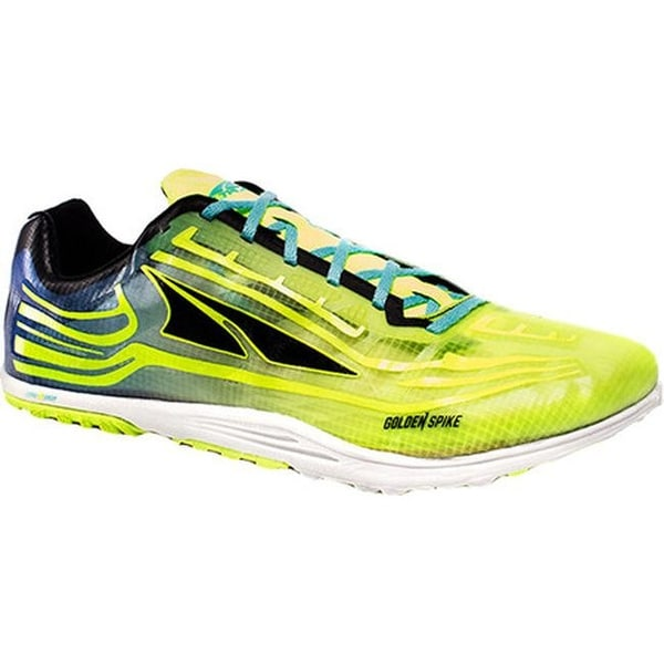 fe556e0f3ac74 Shop Altra Footwear Golden Spike Cross Country Shoe Lime/Blue - Free  Shipping Today - Overstock - 16459160