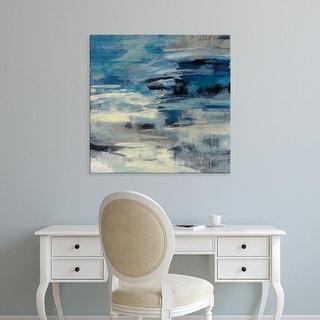 Easy Art Prints Silvia Vassileva's 'Indigo Wave' Premium Canvas Art