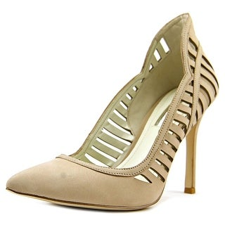 BCBGeneration Tillie Women  Pointed Toe Leather Nude Heels