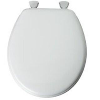 Bemis 44EC-000 Toilet Seat Round Enamel White
