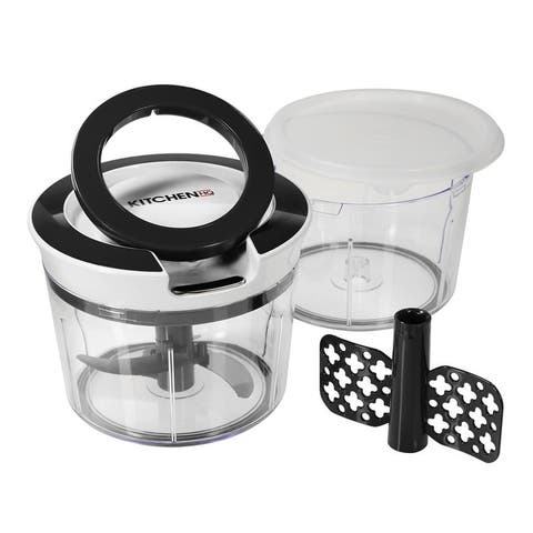 HQ Mighty Prep Chopper and Whipper with Extra Bowl and Lid Model 673-137