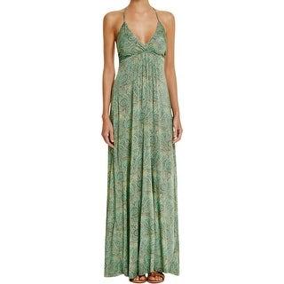 ViX Paula Hermanny Womens Sandra Maxi Dress Printed Empire