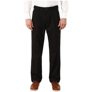 Link to Dockers Mens Khaki Pants Black Size 40x30 Relaxed Fit Pleated Front Similar Items in Big & Tall