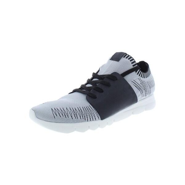 Shop Steve Madden Mens Matty Athletic Shoes Knit Low Top - 13 Medium ... 4e7e37662