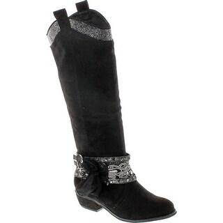 Not Rated Womens Midnight Dream Fashion Riding Boot