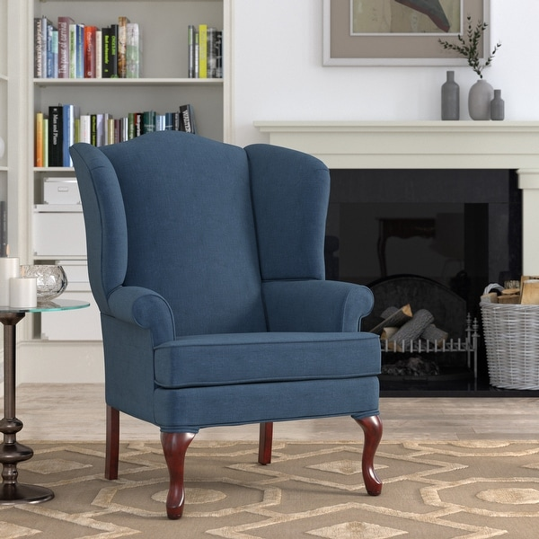 Muriel Wingback Accent Chair by Greyson Living. Opens flyout.