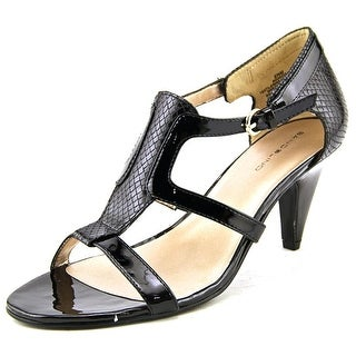 Bandolino Dacia Women  Open Toe Synthetic Black Sandals
