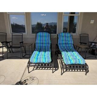 International Caravan Santa Fe Nailhead Multi-position Chaise Lounge