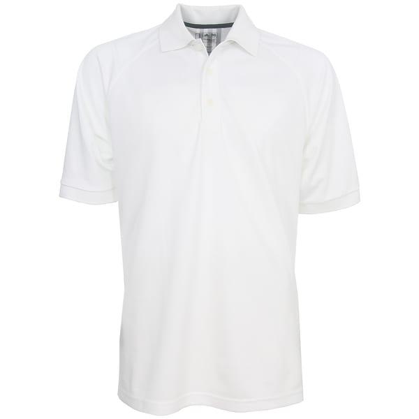 Adidas Men's 3-Stripe ClimaLite Solid Polo Shirt, Brand NEW