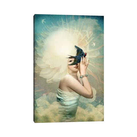 "iCanvas ""The Sun"" by Catrin Welz-Stein Canvas Print"