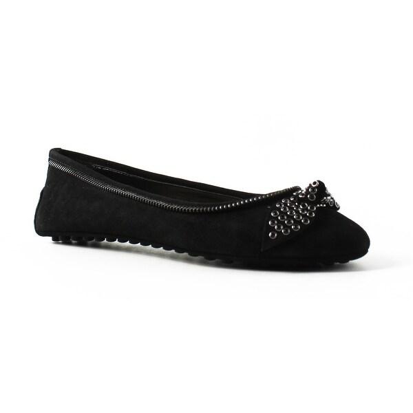 b5493ed1d193 Shop Nine West Womens 25020144 Black Ballet Flats Size 7 - Free ...