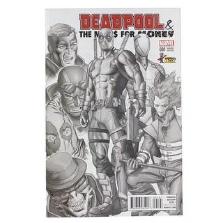 Marvel Deadpool Mercs for Money #001 Comic Con Box 2016 Exclusive B&W Cover - multi
