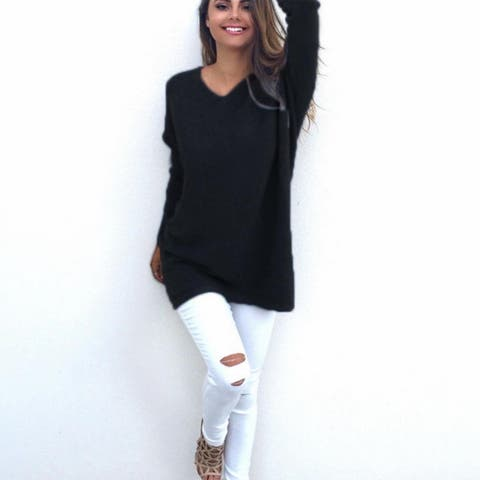 Female V-Neck Sweater