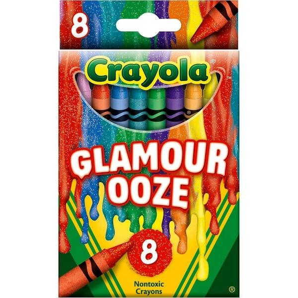 Crayola Meltdown Crayons 8/Pkg-Glamour Ooze