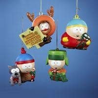 South Park Blow Mold Character Ornament Set