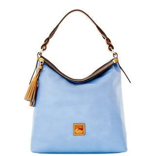 Dooney & Bourke Newbury Leather Sloan (Introduced by Dooney & Bourke at $298 in Sep 2015) - Blue