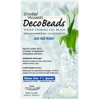JRM Chemical DB-B Deco Beads .5 oz packet Blue -pack of 24