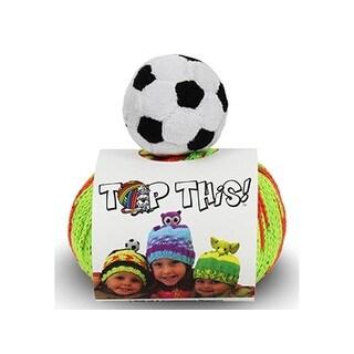 DMC Yarn Kit Top This Soccer Ball