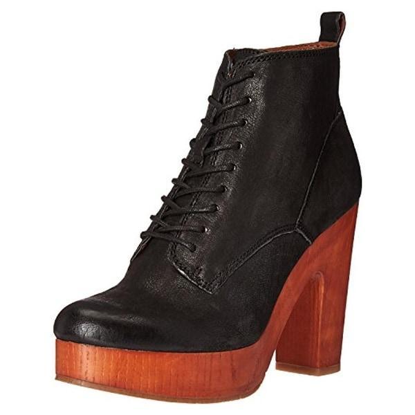 Lucky Brand Womens Tafari Booties Ankle Casual - 9.5 medium (b,m)