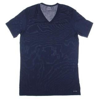 Calvin Klein Mens Modal V-Neck T-Shirt