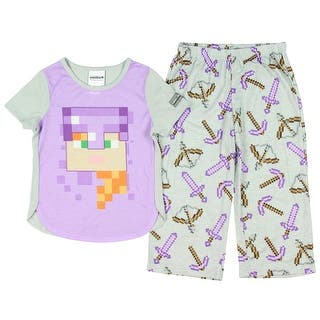 Minecraft Alex In Armor Pajamas for Little Girls|https://ak1.ostkcdn.com/images/products/is/images/direct/e3be8f20cf0d3beefdd84327f6aacde79791fbd4/Minecraft-Alex-In-Armor-Pajamas-for-Little-Girls.jpg?impolicy=medium