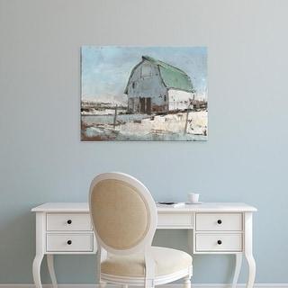 Easy Art Prints Ethan Harper's 'Plein Air Barn I' Premium Canvas Art