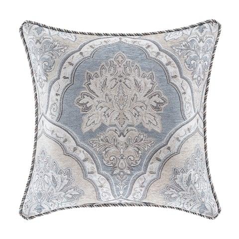 "Five Queens Court Pasadena 18"" Square Decorative Throw Pillow"