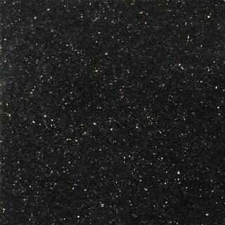 "Emser Tile G14GR101212GAL Granite - 12"" x 12"" Square Multi-Surface Tile - Polish - galaxy black - N/A"