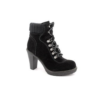 Envy Hello Women  Round Toe Suede Black Ankle Boot