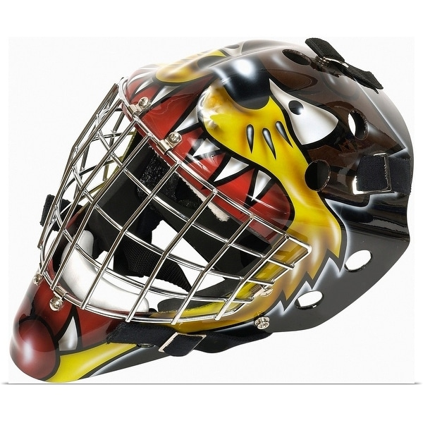Shop Hockey Goalie Mask Multi Color Free Shipping On Orders Over