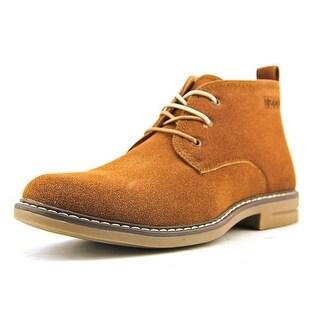 Izod Cally Round Toe Leather Chukka Boot