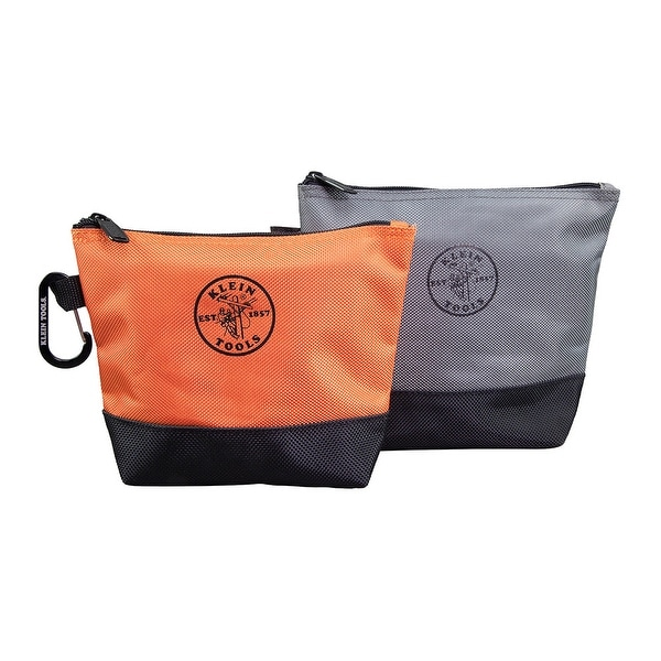 37a86f877eda Klein Tools 55470 Stand-Up Zipper Tool Bags, 2-Pack