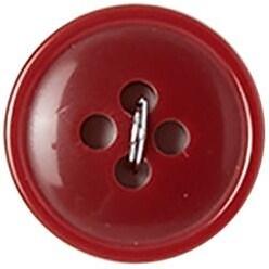 "Red 4-Hole 5/8"" 4/Pkg - Slimline Buttons Series 1"