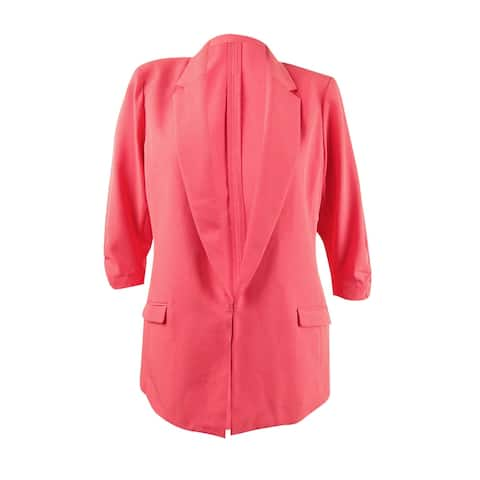 INC International Concepts Women's Menswear Blazer