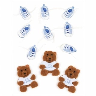 Jolee s Boutique Dimensional Embellishments 11/Pkg-Baby Boy
