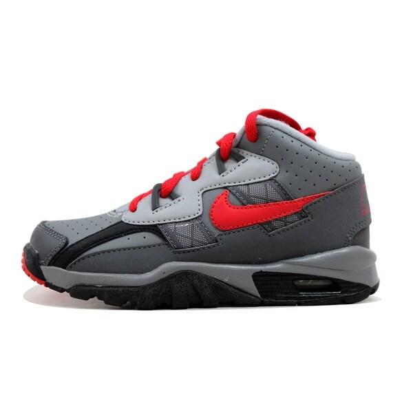 Nike Pre-School Air Trainer SC Cool Grey/University Red-Black-Dark