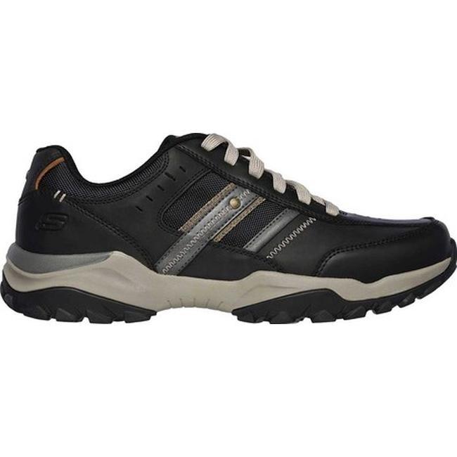 Skechers Men's Relaxed Fit Henrick Delwood Sneaker Black